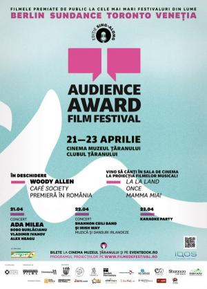 Festivalul Audience Award Film Festival, 2017